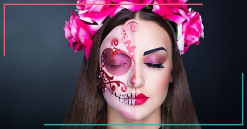 Make-Up, Halloween, Styling